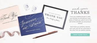 invitations announcements and photo cards basic invite thank you cards by basic invite