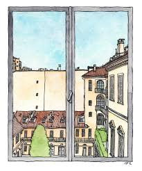 window view drawing. stronger sense that windows are like mirrors: they reveal much more about us and our lives than do the very landscape we see through them.\u201d window view drawing
