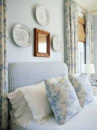 English cottage see more soft blue and white bedroom