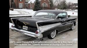 1957 Chevy Bel Air 2 Door Hardtop Classic Muscle Car for Sale in ...