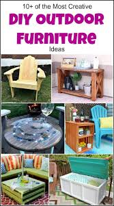 Creative diy furniture ideas Decor Style Motivation 10 Of The Most Creative Diy Outdoor Furniture Ideas