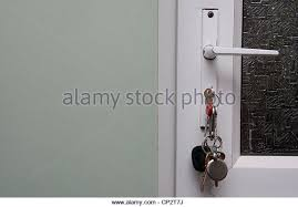 door lock and key black and white. Door Key Left In Stock Photos Lock And Black White
