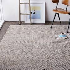 west elm carpets fresh jute chenille herringbone rug platinum 8 x10