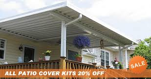 Modern Concept Vinyl Patio Covers Kits And Do It Yourself Patio