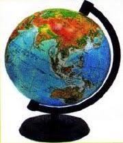 Глобус уменьшенная модель Земли Природоведение Реферат  Глобус