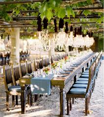 03 jun outdoor wedding chandelier tablescape