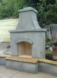 prefab outdoor fireplace kits pictures to pin on