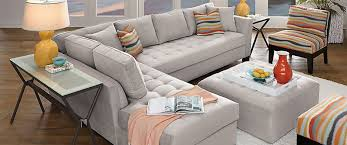 standard sofa table size