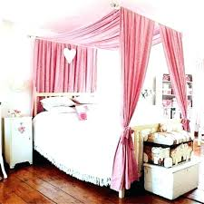 Little Girl Canopy Beds Bed For Toddler Beautiful Pink Girls Room ...