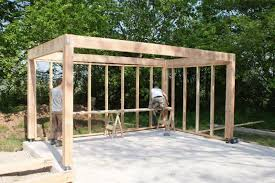 how to frame a carport frame design reviews
