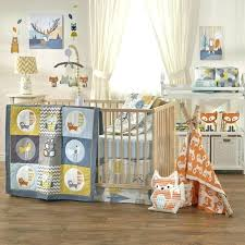 woodland animal crib set woodland crib set woods 4 piece crib bedding set 1 for boy woodland animal crib set