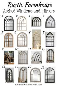 16 arched window and mirror decor ideas