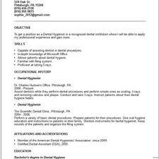 Template Dental Hygiene Resume In Ms Sales Lewesmr Dental Hygienist