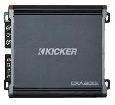 Kicker Cxa300 1 Red Light Details About Kicker Cxa3001 Cx Series Class D Mono Subwoofer Amplifier 600w 43cxa3001