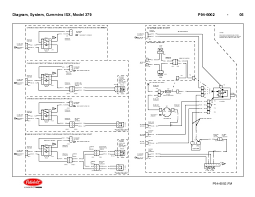 diagrama cummins diagram system cummins isx model 379 p94 6002 04 5