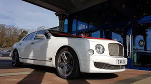 bentley mulsanne white. car hire white bentley mulsanne