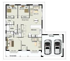 Miraculous Miraculous Small 3 Bedroom Home Plans 3 Bedroom Small House  Design Traditional House Plan First