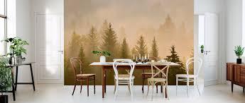 Morning Mist In Bavaria Populair Fotobehang Photowall
