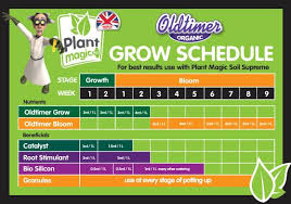 Plant Magic Old Timer Feeding Schedule