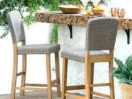 all weather wicker bar stools all weather wicker bar stools outdoor wicker counter height stools nice