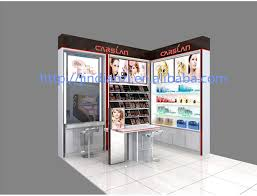 2014 professional makeup station cosmetic display rack with lights and  mirror