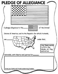 Small Picture Pledge Of Allegiance Coloring Page FunyColoring