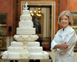 Royal Wedding Cake Kate Middleton Requested 8 Tiers Decorated With