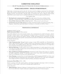 sample public relations resume public relations resume sample resumes good socialum co