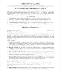 sample public relations resume public relations resume sample resumes good socialum co