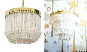 fringe chandelier the boho pendant light australia