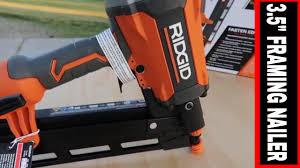 ridgid 3 5 round head framing nailer