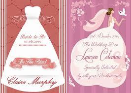hen party ideas Wedding Countdown Messages hen party wine labels from wowwee Wedding Countdown Printable