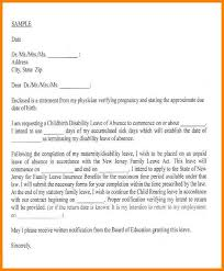 8 Educational Leave Of Absence Letter Dragon Fire Defense