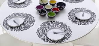fullsize of manly round tables chilewich table placemats runners dahlia black diy placemats round table