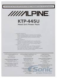 alpine ktp 445u wiring harness wiring diagram and hernes alpine ktp 445u wiring harness diagram and hernes
