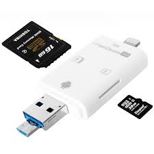 iflash lightning mirco usb sdhc micro sd otg card reader for iphone ipad android