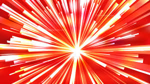 Red Light Burst Abstract Red White And Yellow Light Burst Background