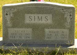 Velma Swadley Sims (1911-1991) - Find A Grave Memorial