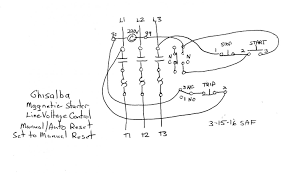 3 Phase Motor Wiring Diagram Control help with a ghisalba 3 phase motor starter to do latching start for stop wiring diagram