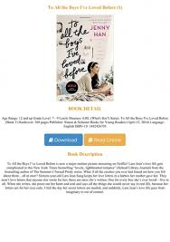 Lara jean song keeps her love letters in a hatbox her mother gave her. E Book Download To All The Boys I Ve Loved Before 1 Full Pages