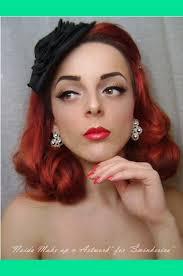 history of make up 1950 s