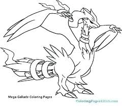 Legendary Pokemon Coloring Pages Lovely 20 Mega Gallade Coloring