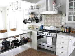Kitchen Island Breakfast Bar Stainless Steel Top Kitchen Island Breakfast Bar White Cushioned