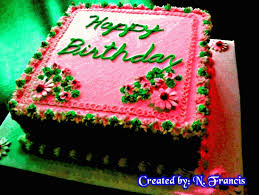 Birthday Cakes For You Free Cakes Balloons Ecards Greeting Cards