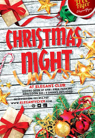 Free Christmas Flyer Templates Download Christmas Holiday Free Psd Flyer Template Download For
