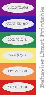 Discipline Charts For Home Behavior Charts Home Online Charts Collection