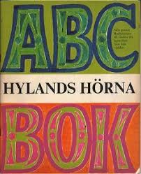 abc book from swedish tv show hylands hörna retrotrace vine book covers vine design
