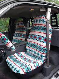 1 set of southwest tribal print seat