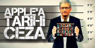 Apple'a 450 milyon dolar ceza