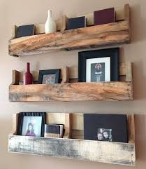 Wood Pallet Shelves Decor